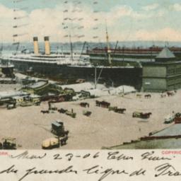 White Star Line Piers New York