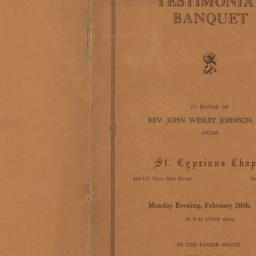 Testimonial Banquet in Hono...