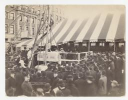 #3 Union Theological Seminary C-6849. Laying of the Cornerstone