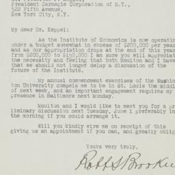 Letter to Frederick P. Kepp...