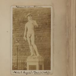 Michelangelo's David, Palaz...