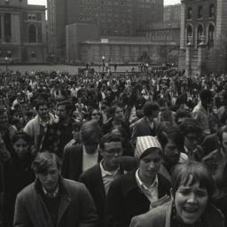 April 23, 1968 Crowd Sundia...