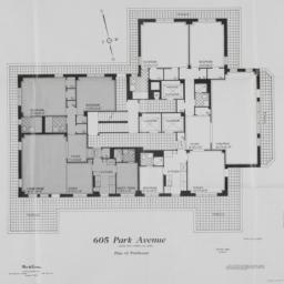 605 Park Avenue, Plan Of Pe...