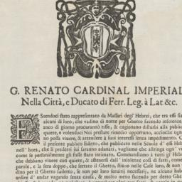 Editto. G. Renato Cardinal ...