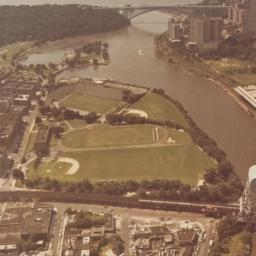 Aerial View of Baker Field