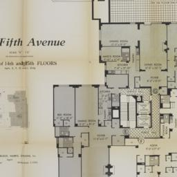 880 Fifth Avenue, Plan Of 1...
