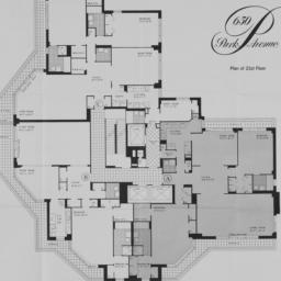 650 Park Avenue, Plan Of 21...