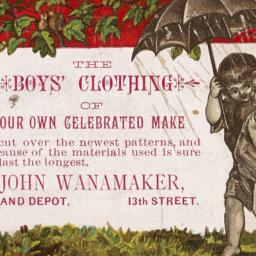 The     Boys' Clothing of O...