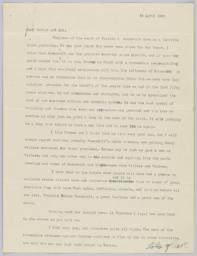 14 April 1945 letter to parents