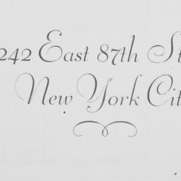242 East 87th Street