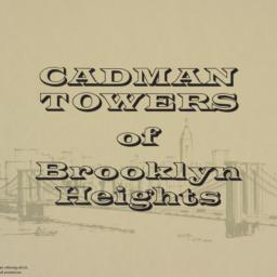 Cadman Towers Of Brooklyn H...