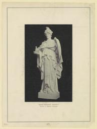 Greek religion: Minerva. Daniel C. French, sculptor