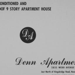 Denn Apartments, 2835 Webb ...