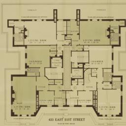 433 E. 51 Street, Plan Of P...