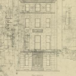 Plate LXXII. Elevation and ...