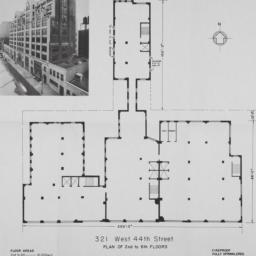 321 W. 44 Street, Plan Of 2...