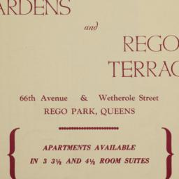 Rego Gardens - Rego Terrace...