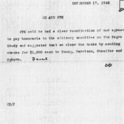Memorandum from Charles Dol...