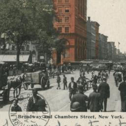 Broadway and Chambers Stree...