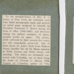 Clippings from Columbia Alu...