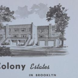 Colony Estates, E. 81 Stree...