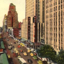 6th Avenue Rockefeller Cent...