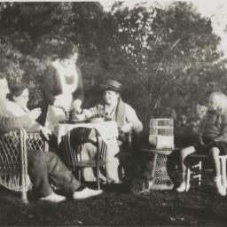 Frances Perkins at Tea