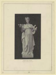 Greek lyric poetry. Daniel C. French, sculptor
