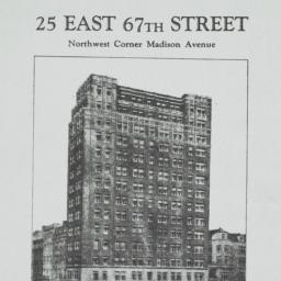 25 East 67th Street