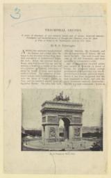 Arc de Triomphe de l'Etoile, Paris