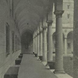 The     Interior courtyard-...
