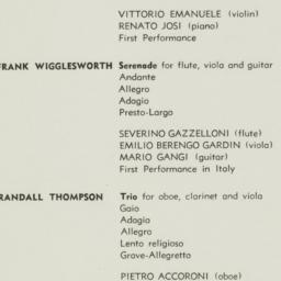 Villa Aurelia Concert Progr...