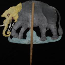 Elephant Rod Puppet