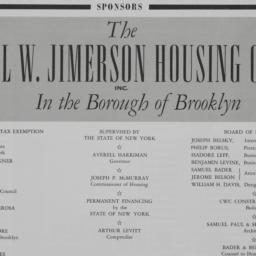Earl W. Jimerson Apartments...