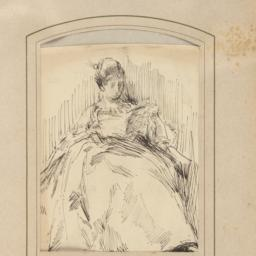 Woman Seated and Reading