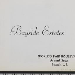 Bayside Estates, World's Fa...