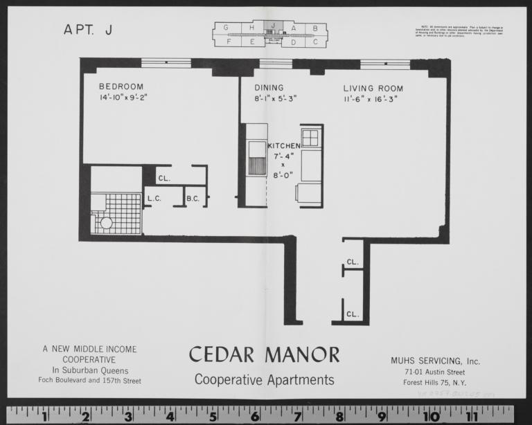 Cedar Manor, 157 Street And 116 Avenue, Apt. J - Columbia ...