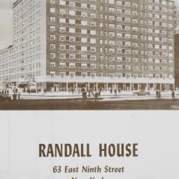 Randall House, 63 E. 9 Street