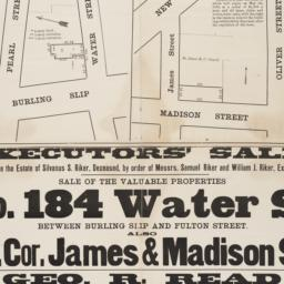 Executors' sale to close th...