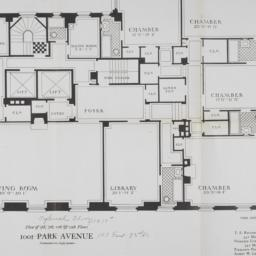 1001 Park Avenue, Plan Of 5...