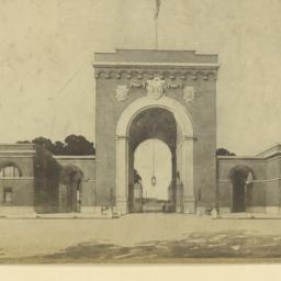 Entrance to Washington Barr...