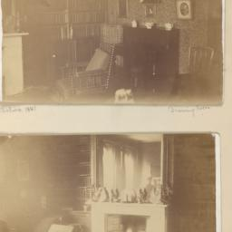 Two images: Drawing Room, a...