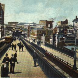 Approach to Brooklyn Bridge...