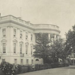 [White House, from the sout...