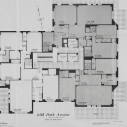 605 Park Avenue, Plan Of 18...