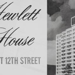 Hewlett House, 60 E. 12 Street
