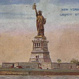 New York City, Liberty Statue.