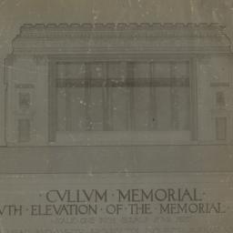 Cullum Memorial, South elev...