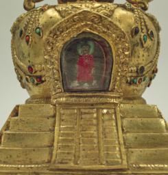 Stupa Reliquary, Detail