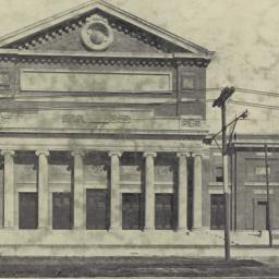 Front, new Music Hall, Bost...